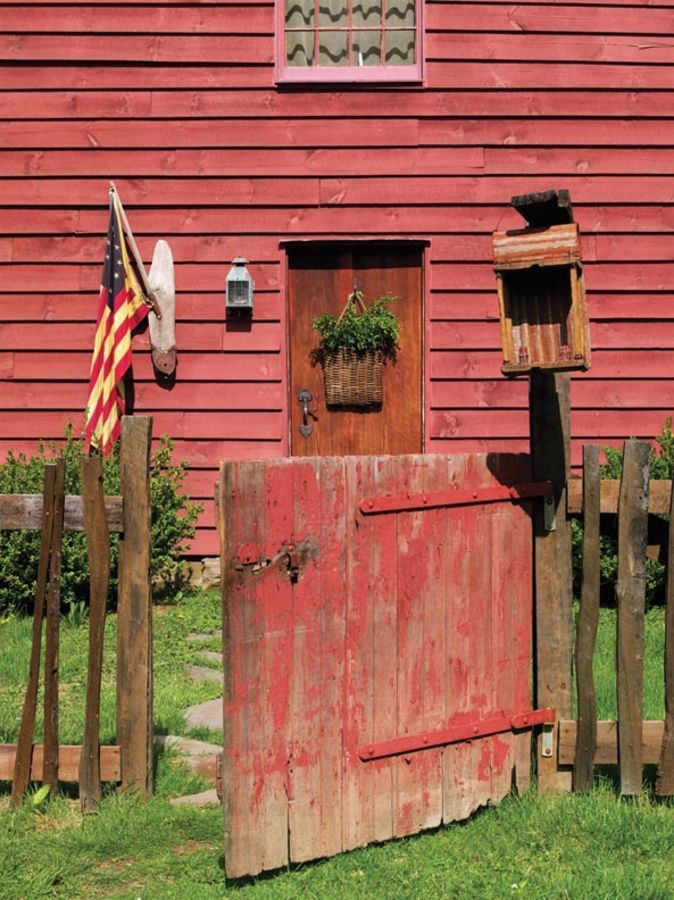Folk Art in a Reproduction Saltbox | Old House Restoration, Products & Decorating