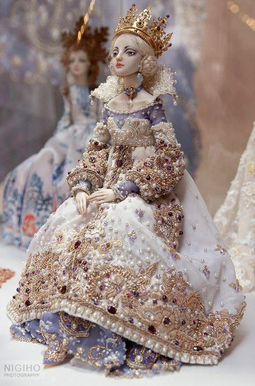 Enchanted Doll by Maria Bychkova