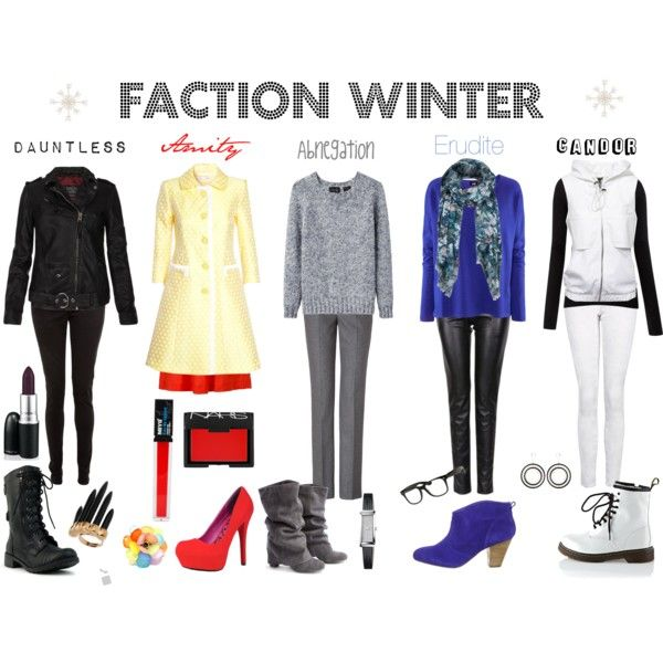 """Faction Winter"" by callmeunwritten on Polyvore"