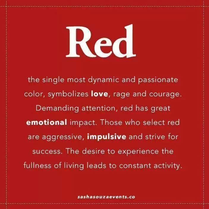 Calming Colors That Will Perfect Your Home: Red Makes A Perfect Accent Color ~