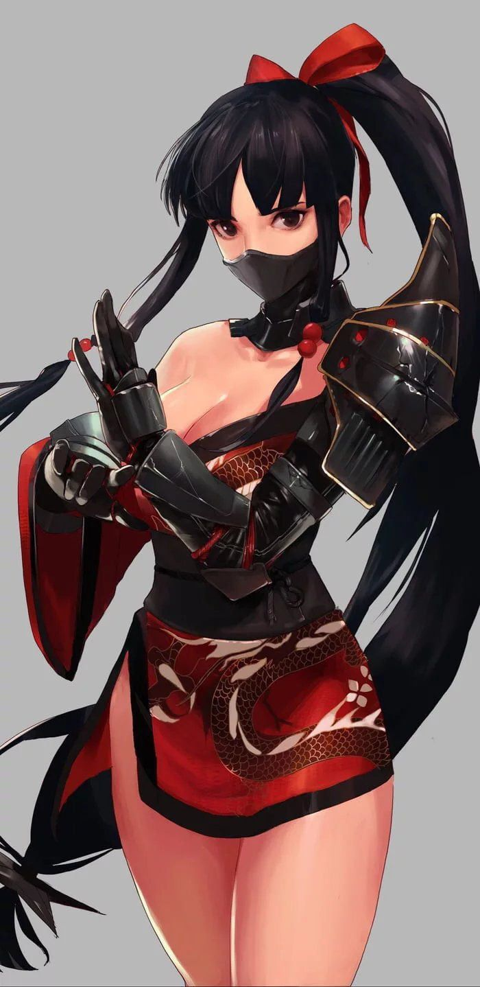 Ninja Girl In 2020 Ninja Girl Samurai Anime Manga Girl