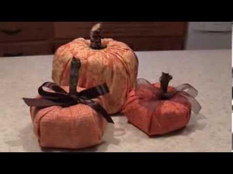 ▶ Toliet Paper Pumpkin Tutorial - YouTube