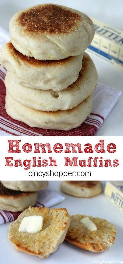 Traditional Homemade English Muffins Recipe  - CincyShopper, ,