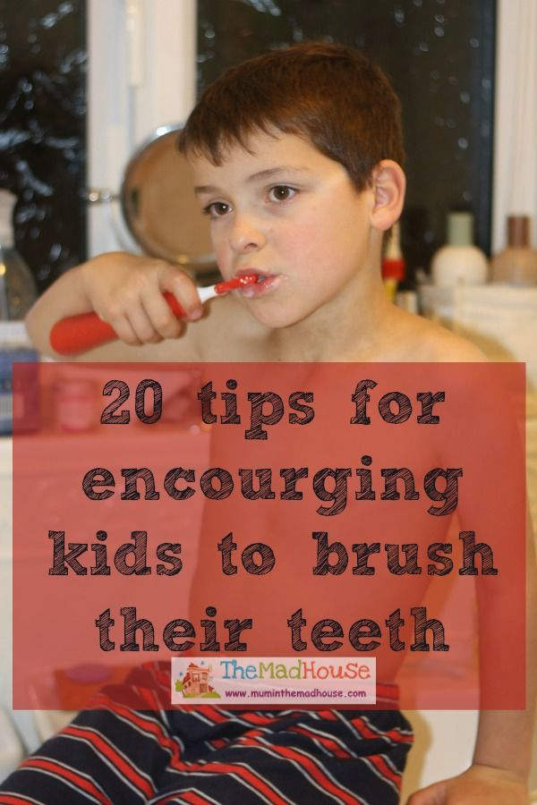 20 teeth brushing tips. These fab tips will encourage your kids to brush their teeth