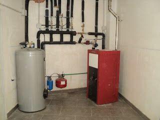 Entramados soluciones bioclimáticas: Instalación de caldera de pellet y hogar de leña en Chodes, Zaragoza
