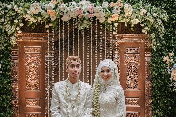 Pernikahan adat Sunda dengan Sentuhan Hijau Pernikahan
