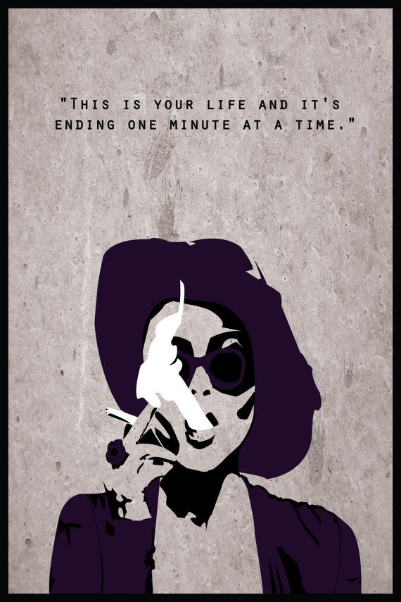 Fight Club Alternative Poster: Marla Singer by DJonesPosters