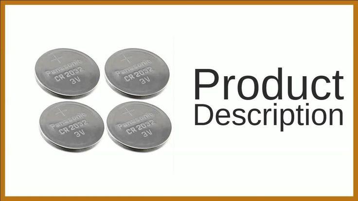 Panasonic CR2032 3v Lithium Coin Cell Battery