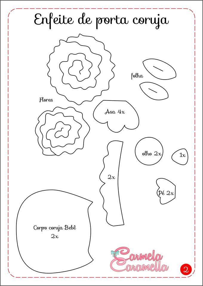 Presentinho de feriadão !!!  Vamos aprender a fazer um lindo enfeite de porta meninas  Tema escolhido , família de corujinhas , você pode p...