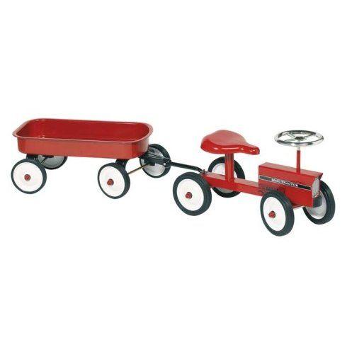 Sparkbil Traktor med släp