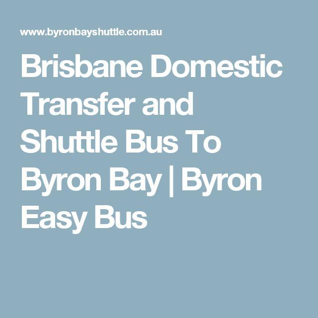 Brisbane Domestic Transfer and Shuttle Bus To Byron Bay | Byron Easy Bus