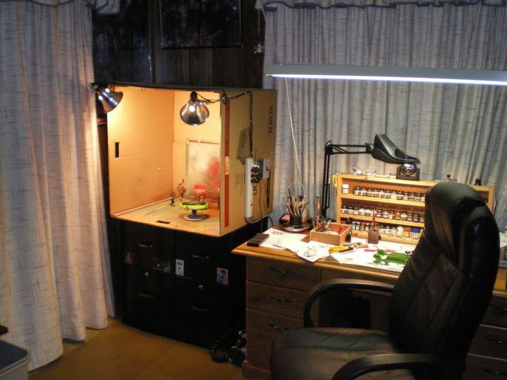 166 best atelier de modelisme model workbenches images for Room setup tool