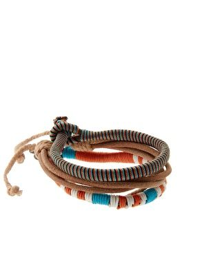 ASOS Carillo Chunky Leather Bracelet pack ($1-20) - Svpply