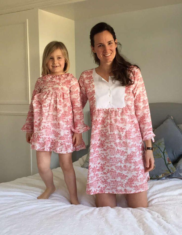 Nachthemd oder Hemdkleid für Mammis