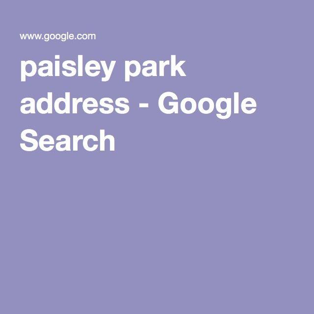 paisley park address - Google Search