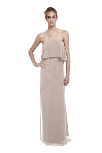 Joanna August State Street Long Bridesmaid Dress