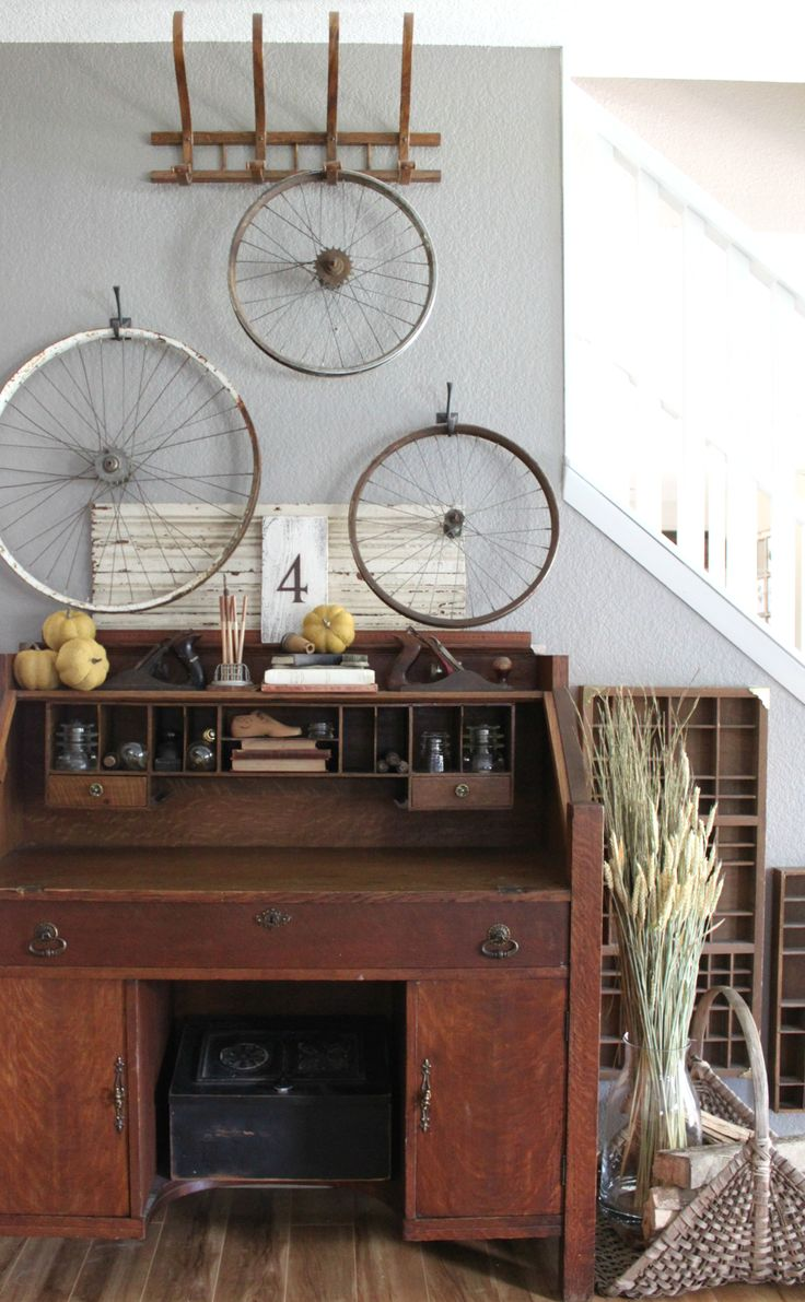 Welcome to my fall entryway by An Inspired Nest