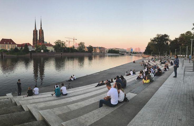 Wieczór nad Odrą
