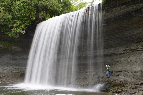 Bridal Veil Falls (35ft), Manitoulin Island, ON. Ferry ride, shortcut to Mackinac Island, Carter bay sand dunes (near providence bay), Little Current, the drive from little Current to Espanola, cup & saucer trail, M'chigeeng trail, Swinging Bridge,  aubrey falls, and more.