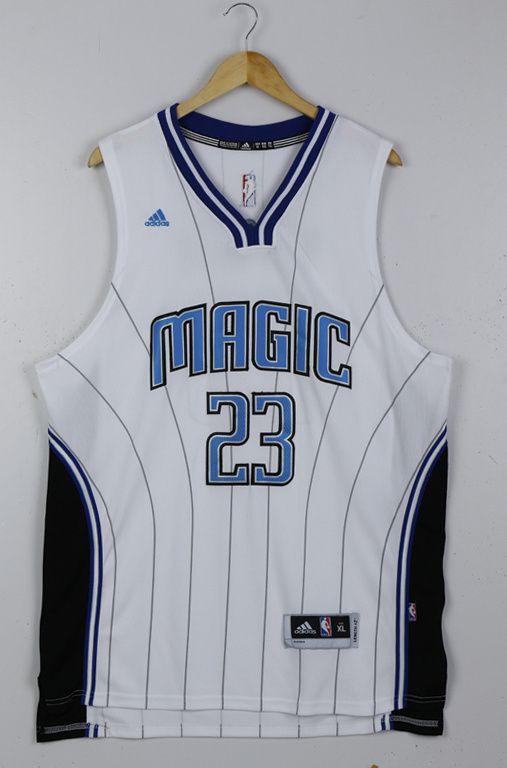 Men's NBA Orlando Magic #23 Mario Hezonja White Jersey01