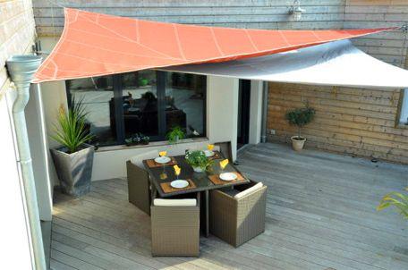 Best 25 pare soleil terrasse ideas on pinterest pare - Toile pare soleil ...