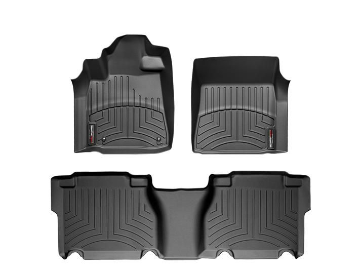 2011 Toyota Tundra | WeatherTech FloorLiner custom fit car floor protection from mud, water, sand and salt. | WeatherTech.com