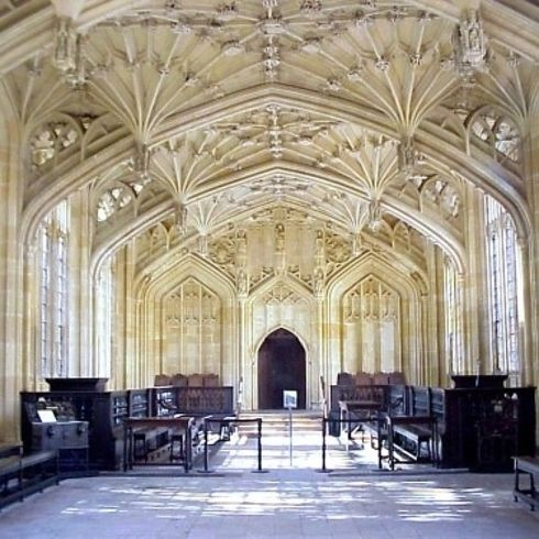 """Hogwarts' infirmary (Divinity School, Oxford University). 