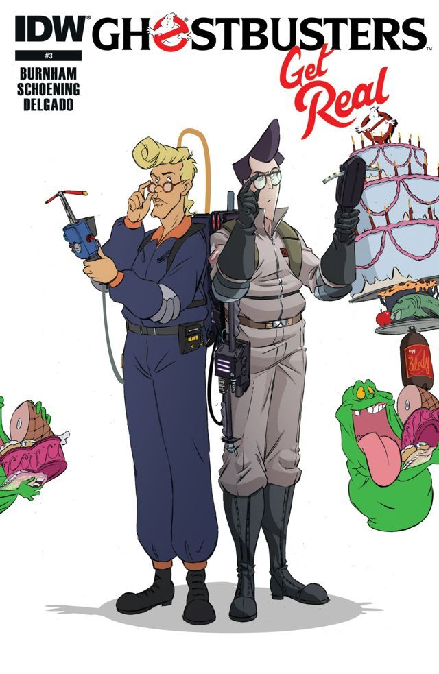 Ghostbusters: Get Real #3 #IDW #Ghostbusters Release Date: 8/26/2015