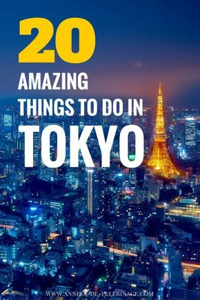 20 amazing things to do in Tokyo. These are the main tourist attractions in Japan's capital and definitely what to see in Tokyo. Click for more information and beautiful photography.