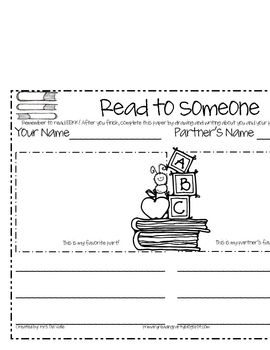 This sheet is great to give your students accountability when completing the