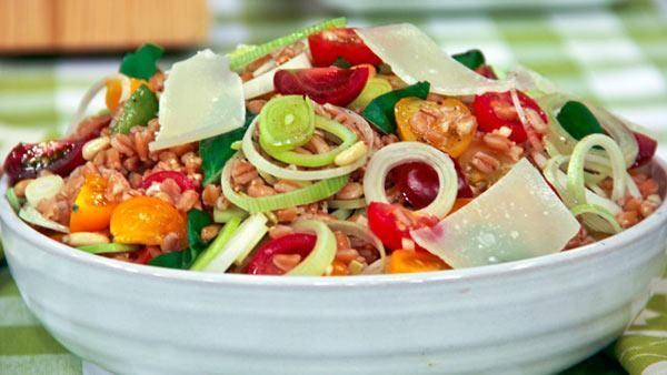 Insalata di Farro (Farro Salad)