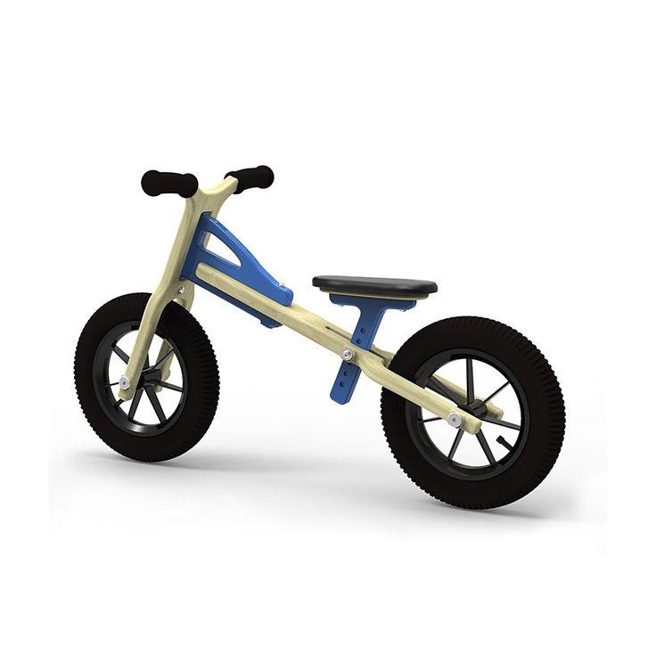 Children's balance bike Perfect as the first bike for a toddler to learn balancing on two wheels  #woodentoys #wooden #toys #factoryforkids #f4k #baby #kids #babyroom #planeco #drewnianezabawki #rowerek #kidsroom #kidsstyle ##kidsfashion #kidsbabylove #kidstoys #woodenbike #sales