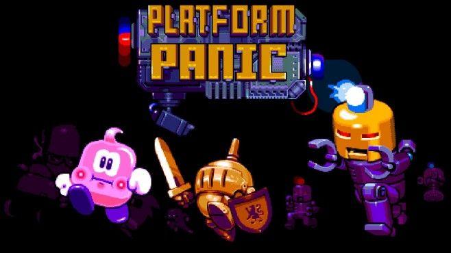 Il piccolo animaletto rosa, protagonista di Platform Panic, si muoverà per le varie piattaforma a schermo in modo del tutto automatico. Questo elemento