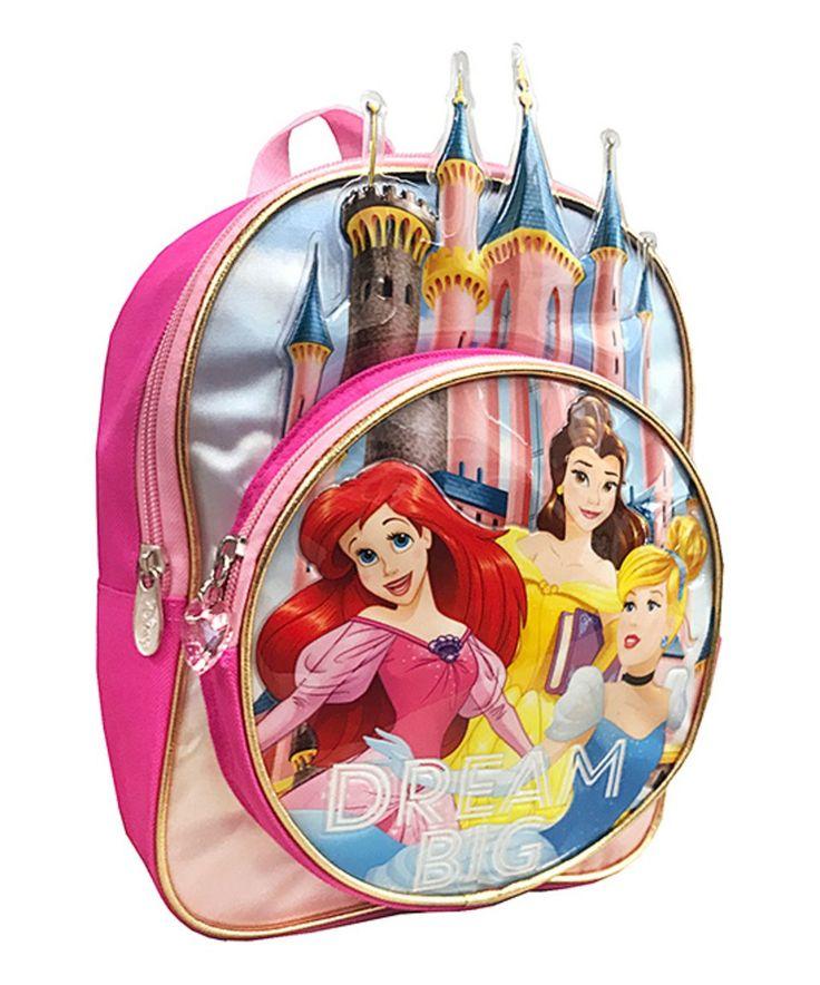 Take a look at this Disney Princess 'Dream Big' Backpack today!