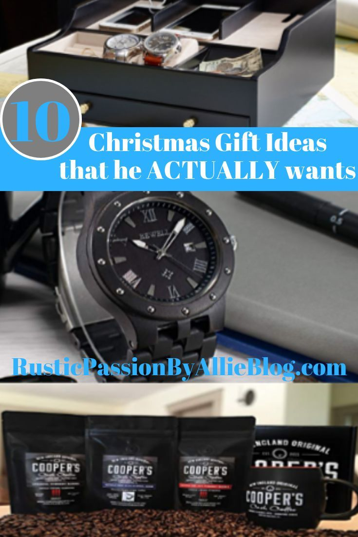 10 Affordably Christmas Gifts For Your Manly Man ...
