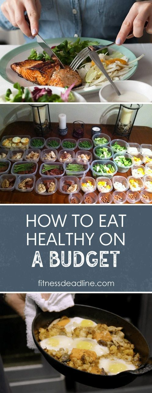 When you're on a tight budget, it can feel like you don't have any options if you're trying to eat healthy. Sometimes it can feel like all thehealthy food is overpricedand it isn't going to fill you up like the cheaper
