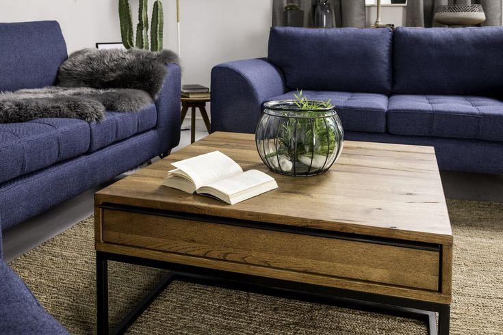 Köp Soffbord Trimezzo 80x80 cm Trä/Svart Metall hos Chilli. Hos oss får du hög kvalitet till bra pris. Handla fraktfritt med snabb leverans direkt till dörren - Välkommen!