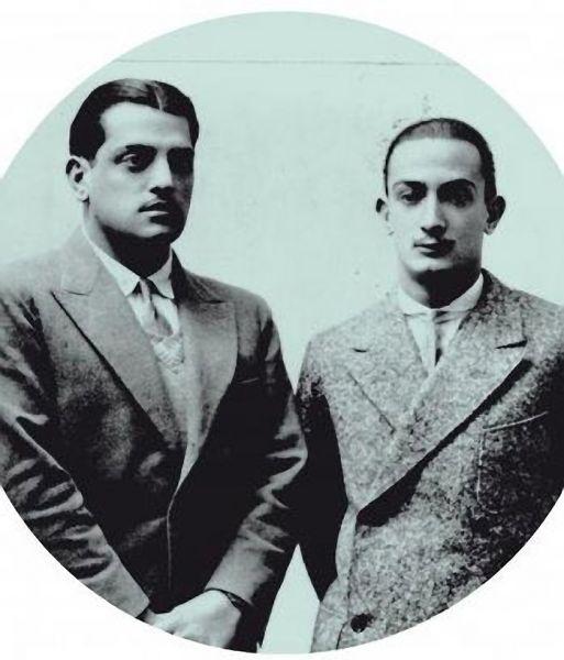 Luis Bunuel and  Salvador Dali.  1930