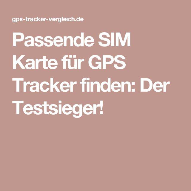 Passende SIM Karte für GPS Tracker finden: Der Testsieger!