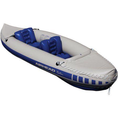 Airhead Roatan Inflatable 2-Person Kayak, Gray