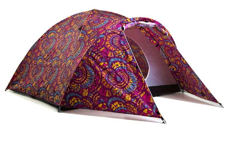 Purple Haze - Solar Powered Tent from The Stylish Camping Company