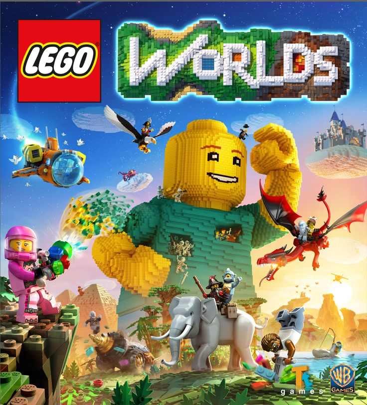 LEGO Minecraft-alike LEGO Worlds is coming to consoles, complete with split-screen multiplayer. Best early Christmas present ever!