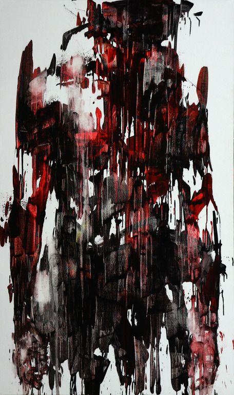 KwangHo Shin. [44] Untitled, 2013. Oil on canvas, 162 x 92.5cm.