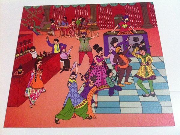 Indian wedding card                                                                                                                                                      More