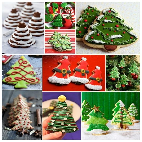 """New Post has been published on http://www.stylishboard.com/10-christmas-tree-cookie-ideas-to-make-during-this-holiday/ """"10 Christmas Tree Cookie Ideas To Make During This Holiday! Christmas tree..."""