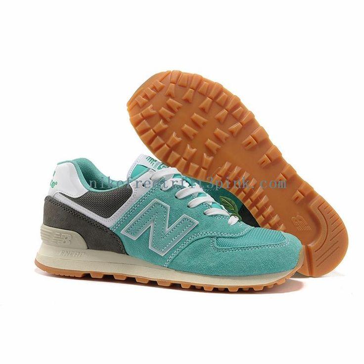new balance women's running shoes | New Balance 574 Women Light Green Gray  Running Shoes To