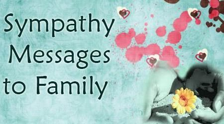 The sympathy wishes for the family can be sent to the family as a whole or to each of the family members. The sympathy wishes for the family can be sent to the family members through condolences cards or text messages.
