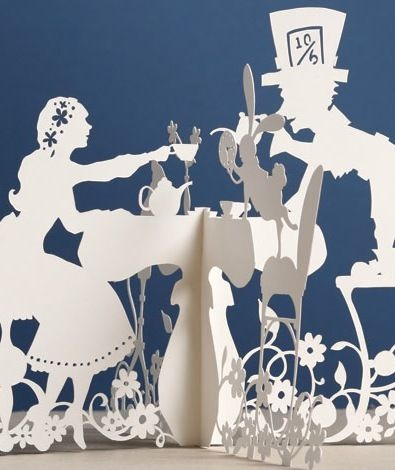 Paper Cuts · Books · Cut Out + Keep  Idea for centerpieces. Paper cutouts. Site goes to a bad link for the book.