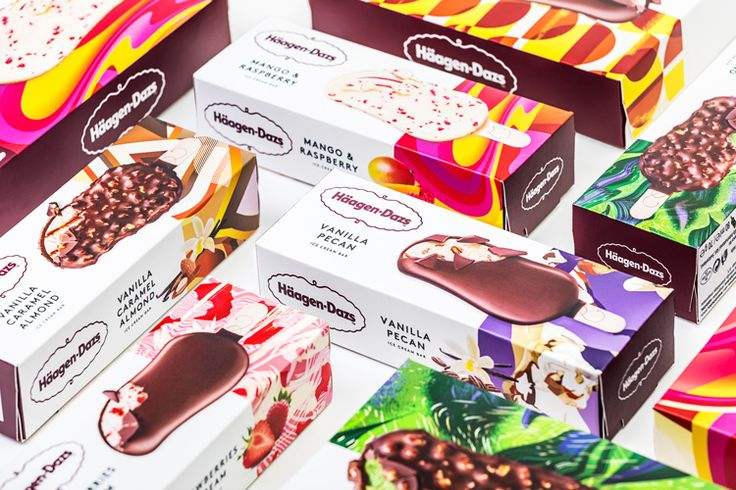 "The ice cream brand, which is over 50 years old, has been given a colourful, illustrated, new look by Love Creative, which aims to be more ""modern""."
