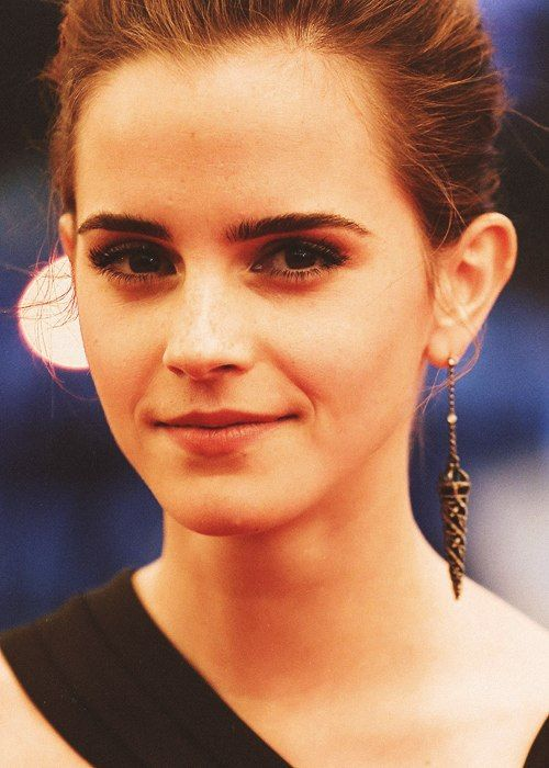 Emma Watson. Seriously my favorite person ever.